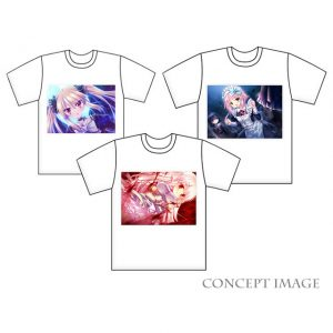 Libra of the Vampire Princess Action Shirts