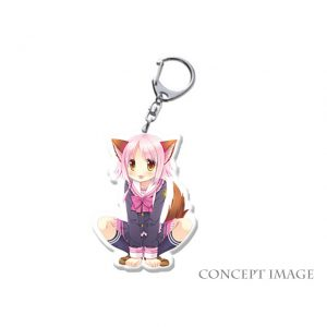 Libra of the Vampire Princess Mari Key Holder